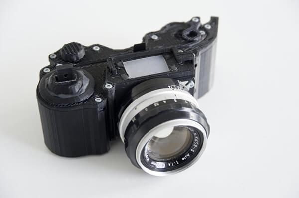 Appareil photo reflex 3D