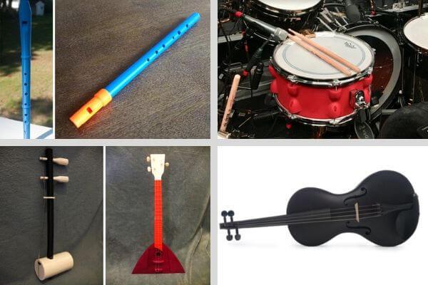 Instrument de musique imprimés en 3D