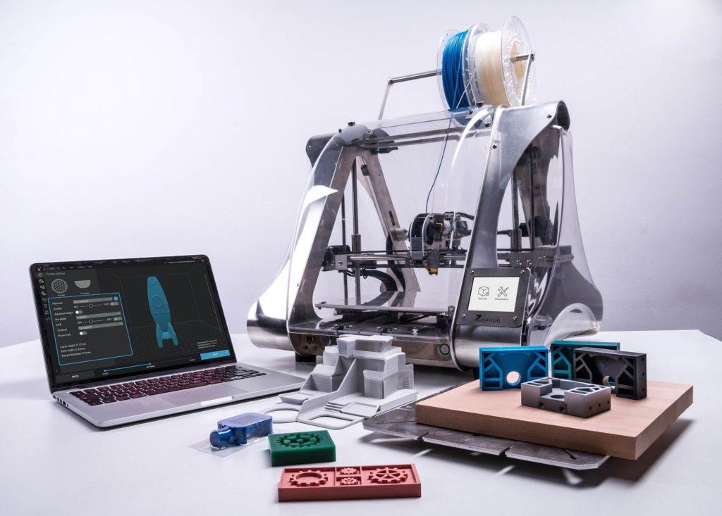 logiciel CAO et imprimante 3D