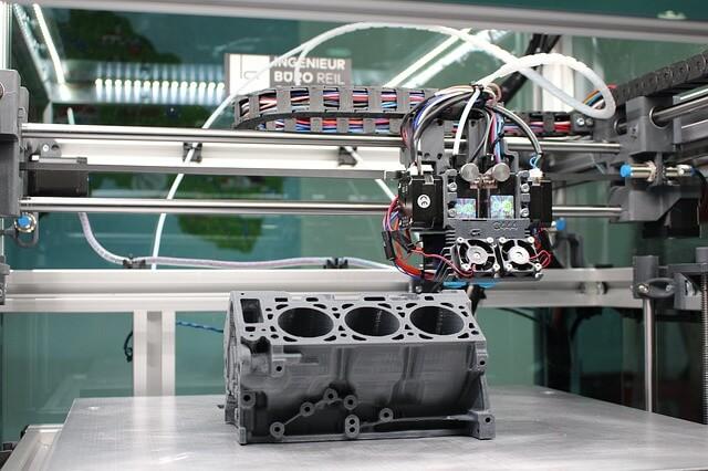 imprimante 3D de voiture