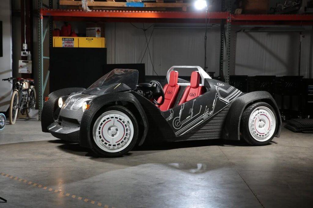 Strati est une voiture 3D de Local Motors