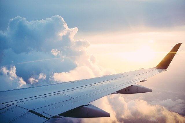 Aile d'un avion imprimé en 3D