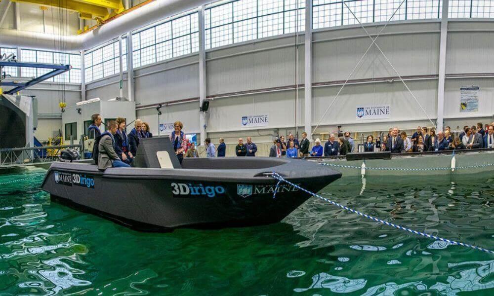 Bateau 3D record du monde