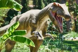 Sculpture 3D de dinosaure