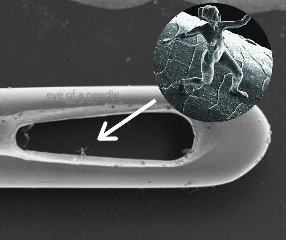 record de la plus petites sculpture humaine en 3D