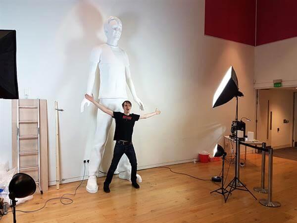 Plus grand humain imprimés en 3D