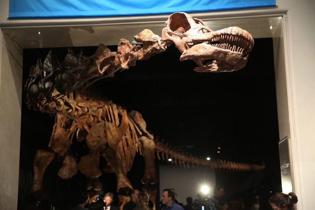 Sculpture 3D d'un dinosaure